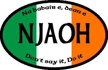 NJAOH Oval Logo
